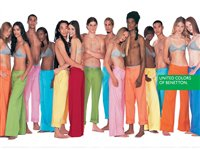 Affiches publicitaires United color of Benetton