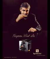 George Clooney in ads