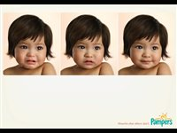 Absorbs what others don't. Pampers: Advertising Agency: Del Campo Nazca Saatchi & Saatchi, Buenos